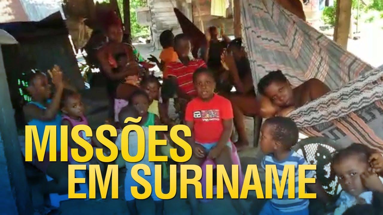 Gideões fazendo missões em Suriname