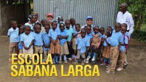 Escola dos Gideões em Sabana Larga no Haiti