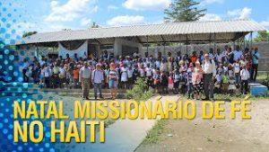 Gideões realizará o Natal Missionário de fé para 4 escolas no HAITI