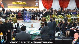Velório do pastor Cesino Bernardino