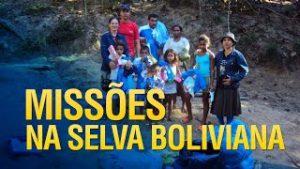 Gideões missões e assistência social na selva boliviana