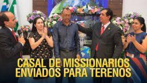 Gideões envia casal de missionários para Terenos