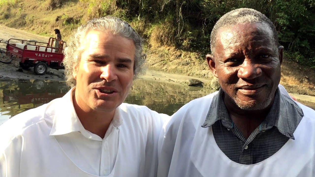 Batismo em águas no Haiti (2º Parte)