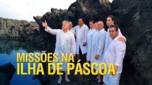 Gideões realiza um lindo batismo na Ilha de Páscoa