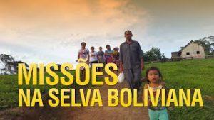 Gideões fazendo missões na fronteira do Brasil