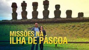 Gideões evangelizando a Ilha de Páscoa
