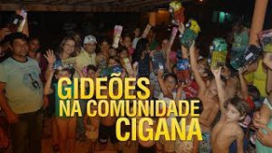 Gideões na maior comunidade cigana da america latina
