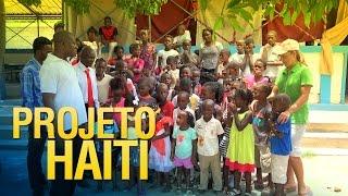 Crianças no Haiti citam o salmo 23