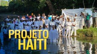 Gideões realiza mais um batismo em águas no Haiti