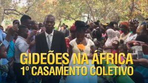Gideões realiza o 1º casamento coletivo na África