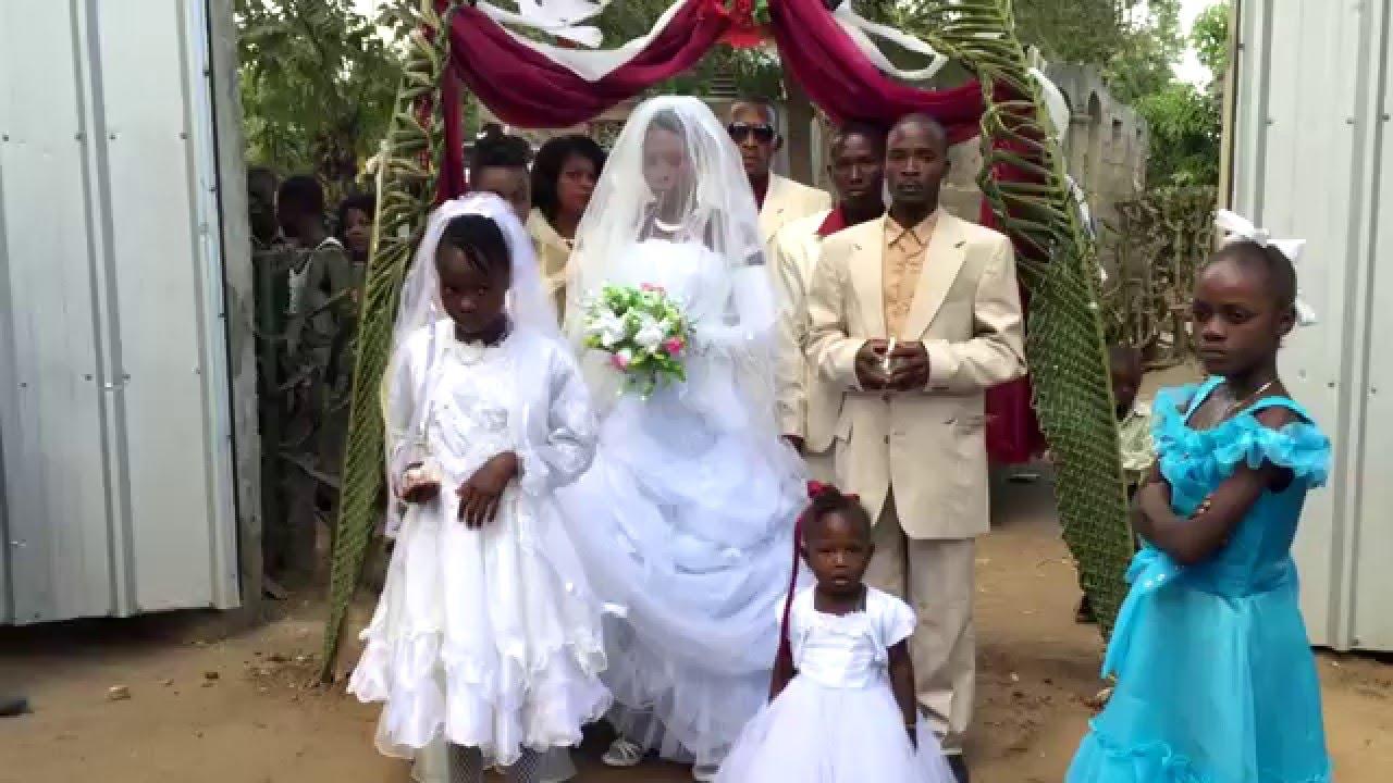 Casamento de Missionária dos Gideões no Haiti