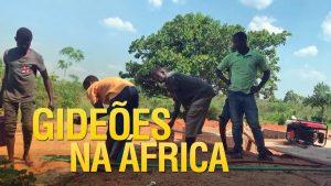 Gideões abre poço artesiano em Namacuva