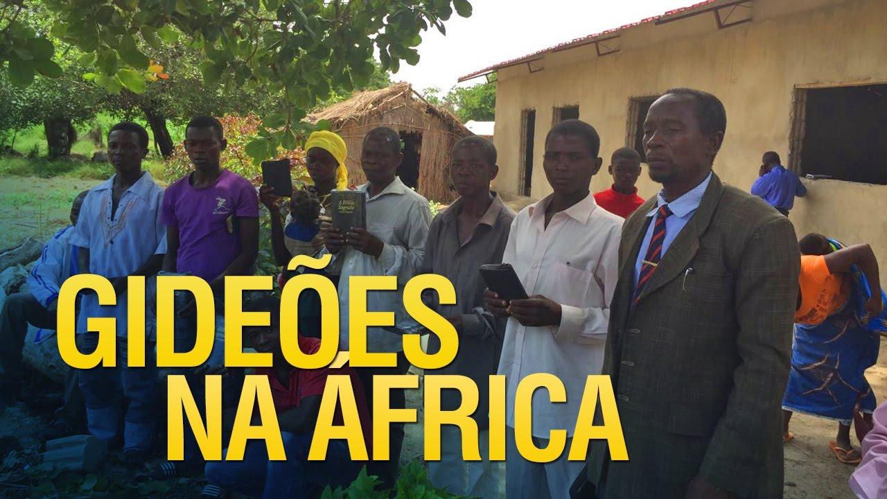 Gideões faz doações de bíblias na África