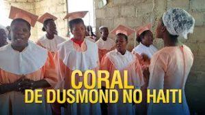 Coral de Dusmond na Igreja dos Gideões no Haiti