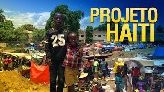Um pouco da realidade em Guanamendes no Haiti