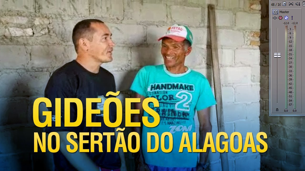 Missionários dos Gideões no sertão do Alagoas