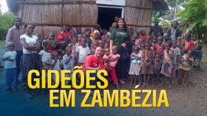 Gideões fazendo missões na Zambézia