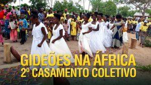Gideões realiza o 2º casamento coletivo em Namacuva