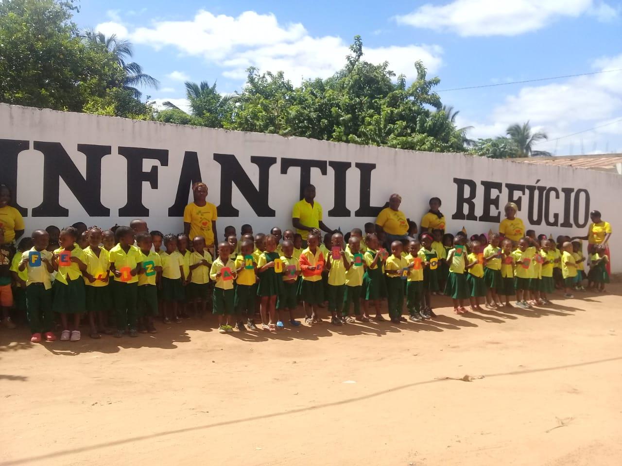 Centro Infantil Refúgio na África completa 5 anos