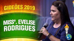 Gideões 2019 – Missionária Evelise Rodrigues