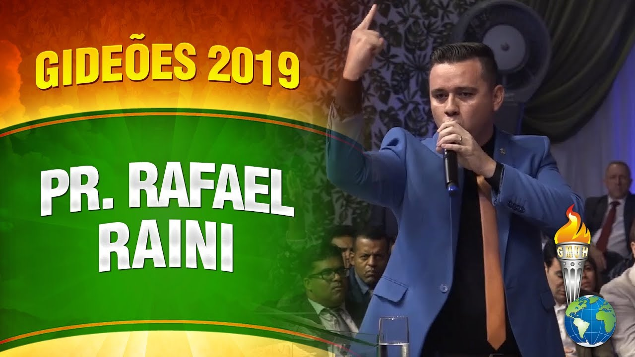 Gideões 2019 – Pr. Rafael Raini