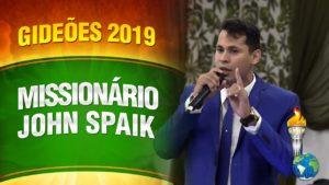 Gideões 2019 – Missionário John Spaik