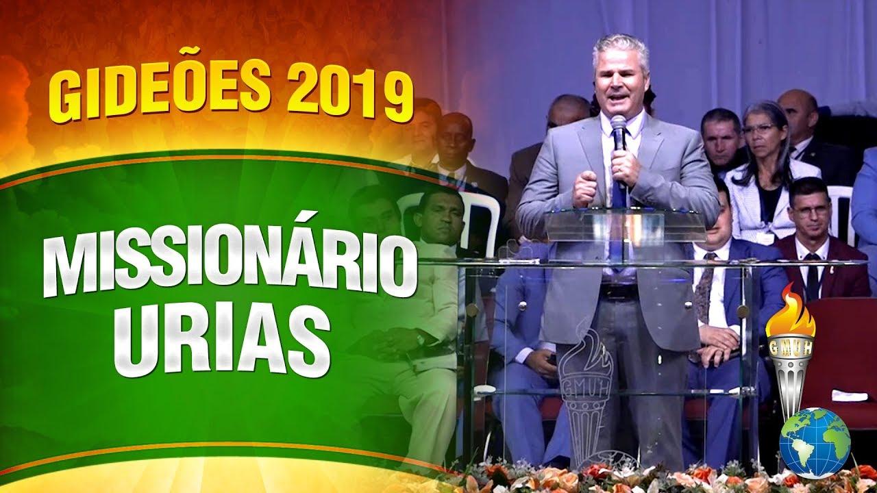 Gideões 2019 – Missionário Urias Alves Brito