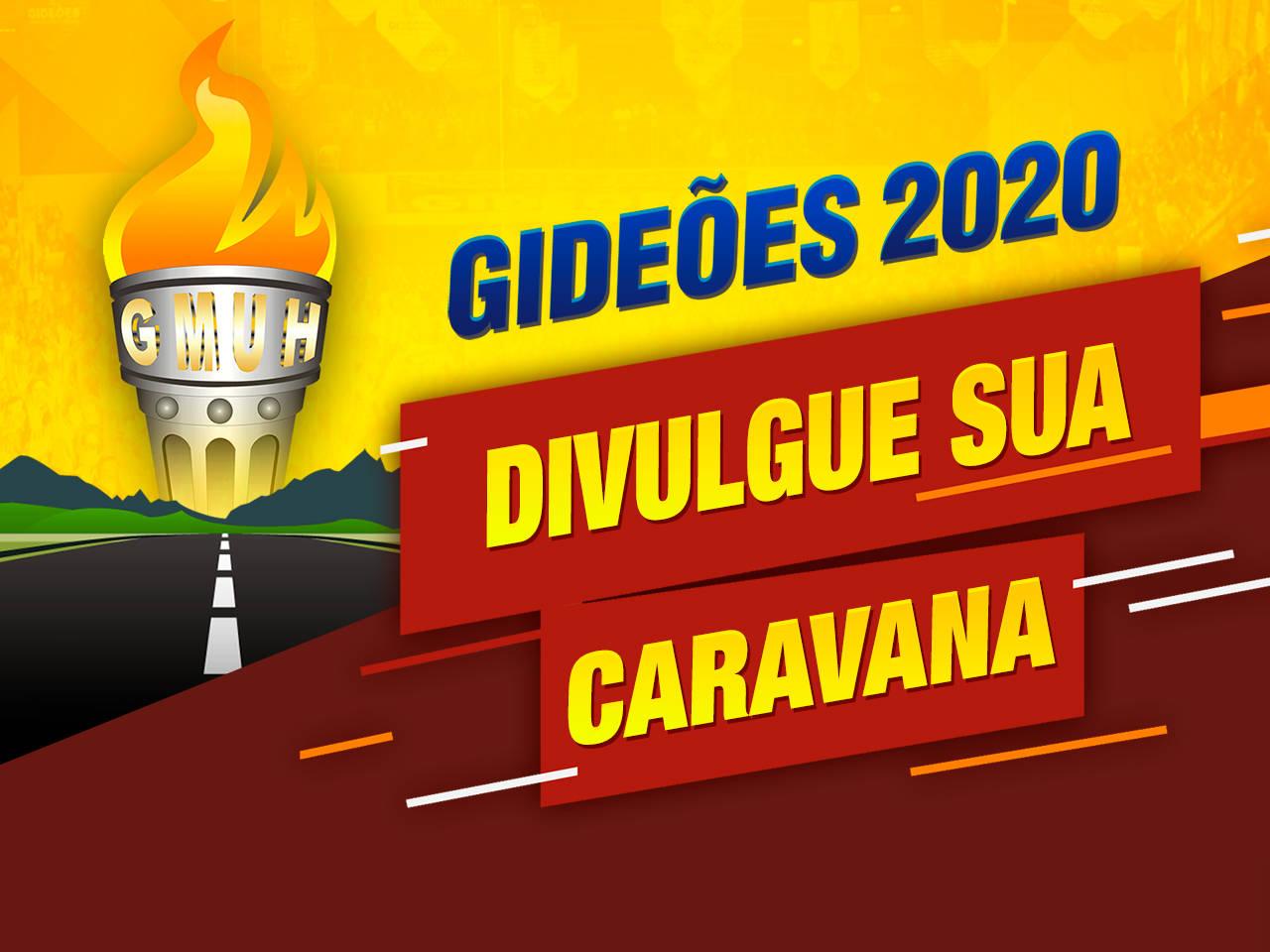 Cadastre sua caravana para o Congresso dos Gideões 2020