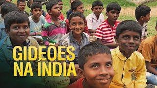 Gideões investindo na educação cristã na Indía