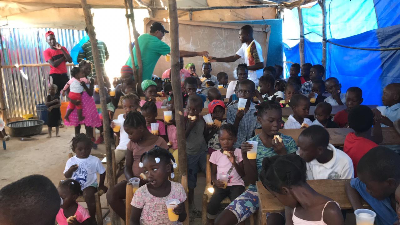 Missionário do Haiti faz apelo para ajuda financeira para compra de cestas básicas no Haiti