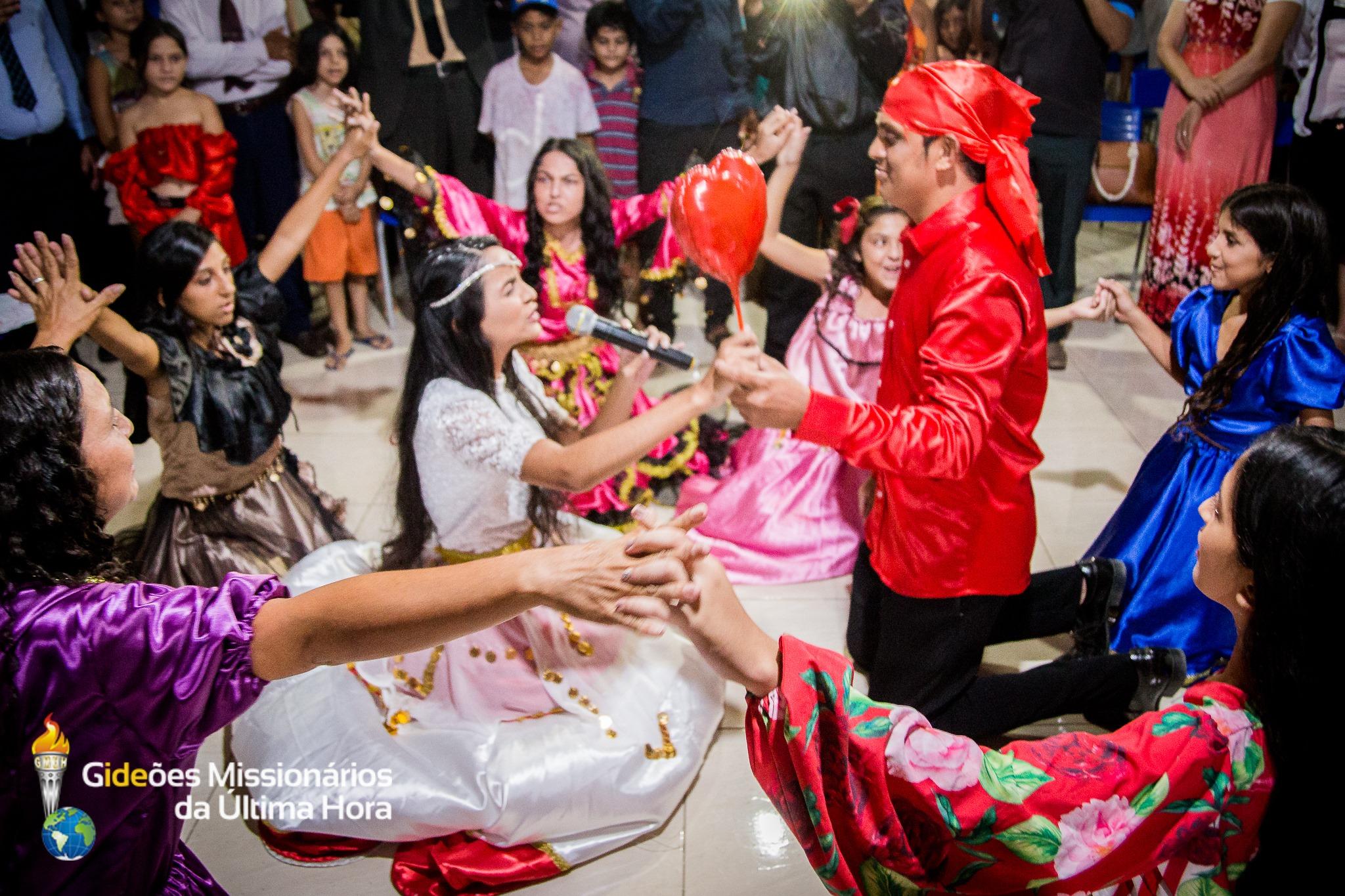 Primeiro casamento evangélico entre os ciganos na Paraíba