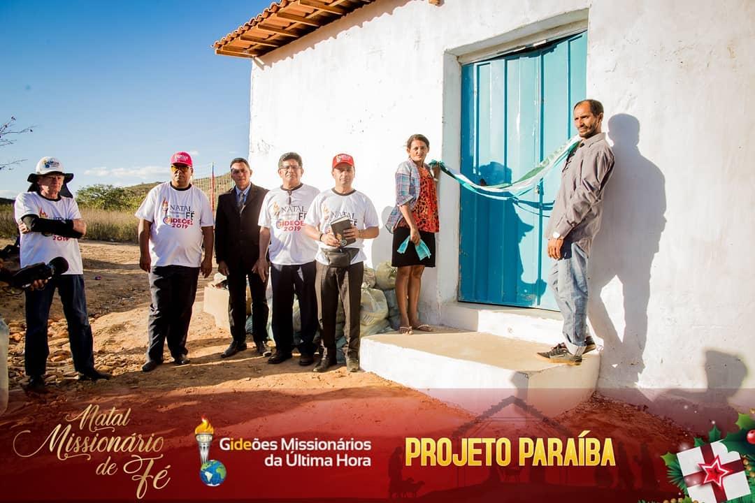 Inauguração de templo no sertão da Paraíba