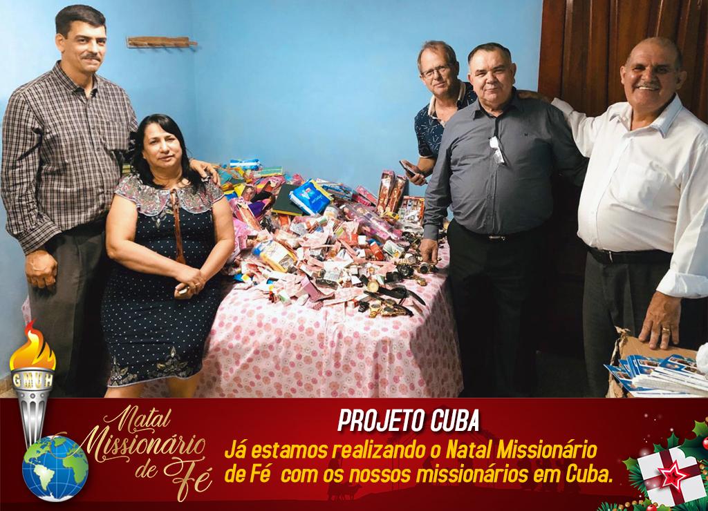 Natal Missionário de Fé em Cuba