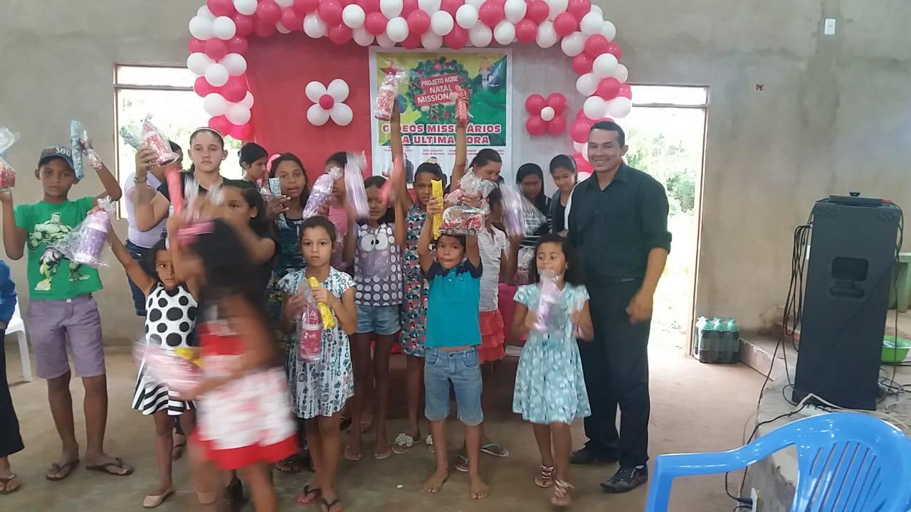 Natal Missionário de Fé no Acre