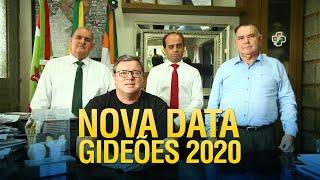 Nova Data dos Gideões 2020