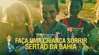 Faça uma Criança Sorrir – Sertão da Bahia