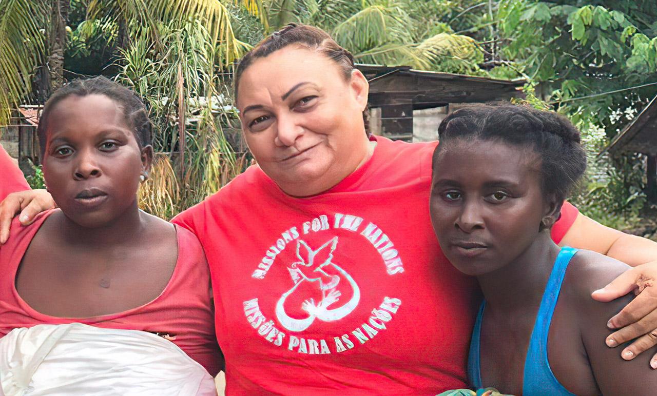 Missionária Rayla do projeto Suriname parte para a eternidade