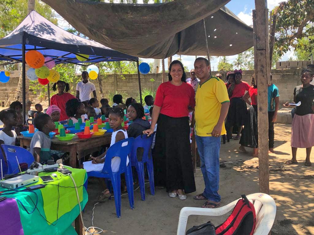 Missões na Zambézia em Moçambique, África