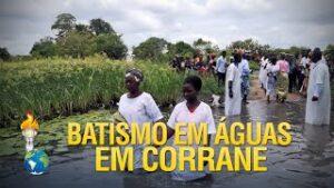 Gideões Missionários ganhando almas para Cristo em Corrane