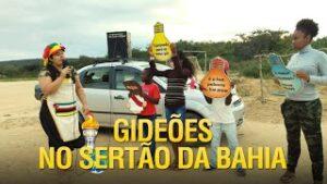 Gideões no sertão da Bahia – Culto ao ar livre