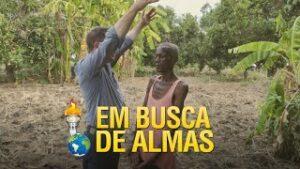 Gideões na busca de almas em Moçambique