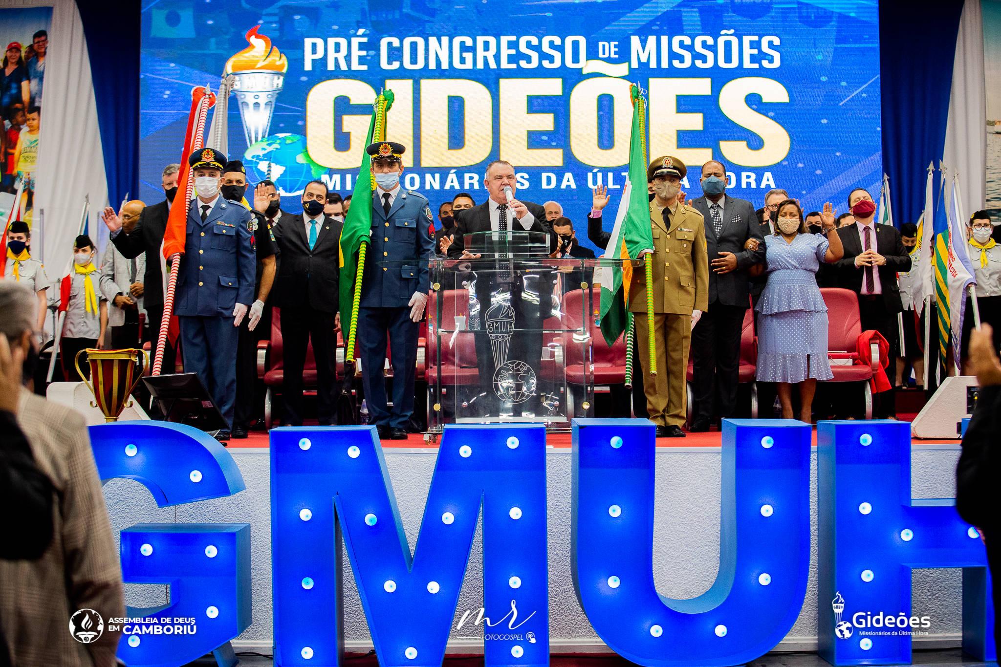 Abertura do Pré-congresso de missões reúne centenas de pessoas em Camboriú
